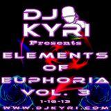 Elements Of Euphoria House Mix vol.3 1-16-13