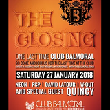 dj PCP @ Balmoral - The Closing - The Final set 27-01-2018