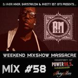 DJ Averi Minor - Weekend Mixshow Massacre Mix #58