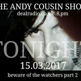 The Andy Cousin Show 15-03-2017