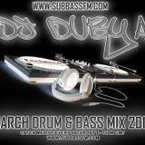 DJ_Dubya March DnB mix 2012