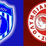 Νίκη Βόλου - Ολυμπιακός Βόλου 4-12-2016