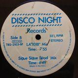 Disco Night Records - (Side B1) LA '1018' Mix