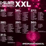 MixMarathon XXL - monday 15 - 19pm