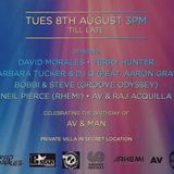 Private Villa Party Ibiza (8th August 2017)