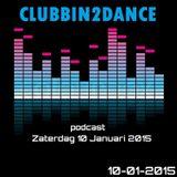Allard Eesinge - Clubbin2Dance (10-01-2015)