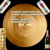 Acoustic Resistance 002