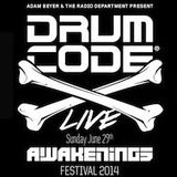 Alan Fitzpatrick - Recorded Live @ Drumcode Stage, Awakenings Festival, Amsterdam :: 29th June 2014
