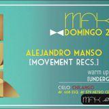 Alejandro Manso Live Cielo Chilango 22/05/2016