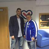 Cheshire Phoenix's Coach Coffino and new signing Simeon Naydenov speak to Dee Sport