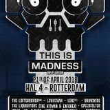 Thumpa - This Is Madness 21.04.18 Rotterdam Promo Mix (Helter Skelter Technodrome Classics)