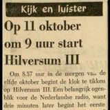 =>> Hilversum III 96.8FM <<= Friday, 28th July 1972 10.53-11.38 hrs.
