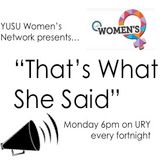 That's What She Said Episode 17: Femsoc/Life Matters Debate