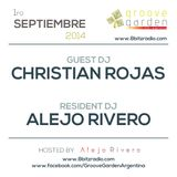 Christian Rojas & Alejo Rivero @ Groove Garden Radio Experience | 1-9-2014