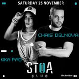 Chris DelNova@Stoa Club_25 November 2017 [Deep Tech House]