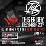 DJ TEK ONE VIVE 92.1 FM RUSH HOUR MIX