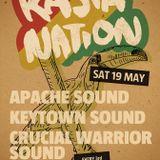 Crucial Warrior Sound @ Rasta Nation #23 (May 2012) part 2/6