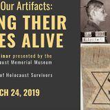 Ithaca Descendants of Holocaust Survivors Sponsors Program on Artifacts