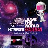 Hardwell v.s. Swedish House Mafia/LBL - Leave the World, Spaceman (bloodbeard x DPaul Mashup)
