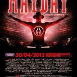 Juliet Sikora - Live @ Mayday Dortmund 2012 - 30.04.2012
