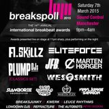 LIVE @ Breakspoll International Breakbeat Awards 2015