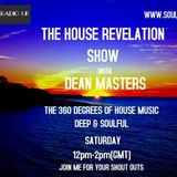 DEAN MASTERS - HOUSE REVELATION SHOW - SOULRADIOUK/JUICERADIO 17-09-18