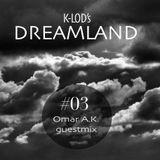 K-Lod's Dreamland Podcast Episode #3 / Omar A.K. Guest Mix