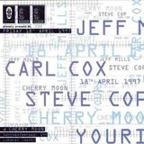 Jeff Mills at Cherry Moon (Lokeren - Belgium) - 18 April 1997