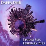 Dappa.DnB Studio Mix - February 2013