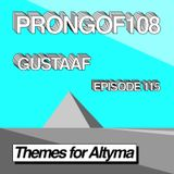 Prongof108 #115 'Themes for Altyma' with Gustaaf 03.09.2018