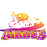 air bus 380   by poprin