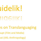 Duidelik: 2 Perspectives on Translanguaging by Marlon Swai and Adam Haupt
