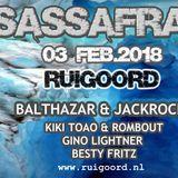 Sassafras Feb. 3rd Ruigoord