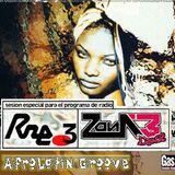 """Presentado por Sonia Briz, el Set: """"Afro Latin Groove"""" de Xabier Izar, en Zona 3 de Radio 3, 2002."""
