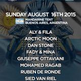 Fady & Mina - Future Sound of Egypt 400 ( Argentina ) 2015-08-16