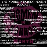 The First Official Women in Horror Month Podcast: Part One