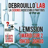 Débrouillo'Lab#17 avec La Fête De La Sciences 11/10/2014