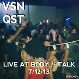 Body // Talk July 2013 (Live)