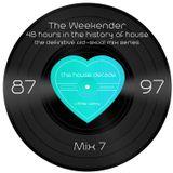 The Weekender Mix 7 – Stylish, Soulful, Rocking