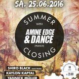 2016.06.25 - Amine Edge & DANCE @ Harterei, Zurich, SZ