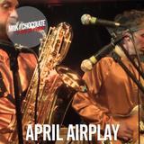 Milk'n'Chocolate's April 2015 Airplay