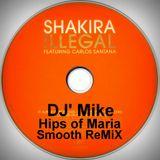 Latin vibe featuring Shakira and Santana