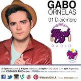 Entrevista de Gabo Ornelas en WEEK ON Radio junto a Jack Ramos & Bianka Gomez