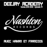 DEEJAY ACADEMY - SAISON 2015/2016 - ÉPISODE 24 [SPECIALE NASHTON RECORDS]