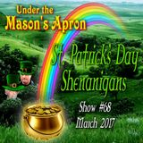 Under the Mason's Apron Folk Show #68 St Patrick's Special March 2017