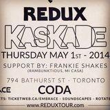 FRANKIE SHAKES - Live At Kaskade's Redux (Coda, Toronto)