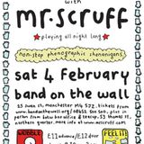 Mr Scruff live DJ mix from Band On The Wall, Manchester, Saturday February 4th 2012