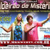 Programa Caldeirão de Mistérios 11/04/2016 - Wilma Mazzoni e Marisa Petcov