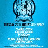 Masters at Work @ Music is Revolution Week 11, Space Ibiza - 23 August 2016