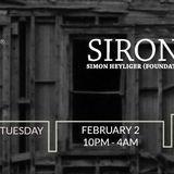 Anti-Social Tuesdays LIVE @TBA Brooklyn 2/2/16 w SiRon (Simon Heyliger B2B Ron Steiner) 10pm to 1am
